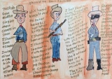 "Art of the Week: ""Three Cowboys"" by Davey K."