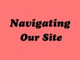 Navigating our Site
