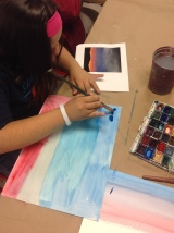 Watercolor Sunsets with The Rosedale School