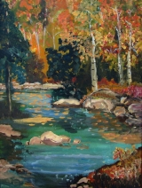 "Art of the Week: ""Serenity in Fall"""