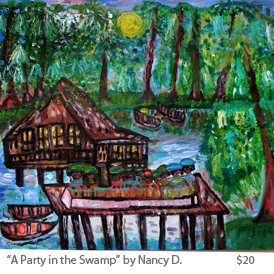 A Party in the Swamp by NancyD