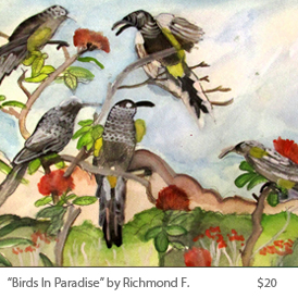 Birds in paradise by Richmond F.