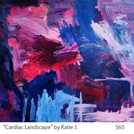 Cardiac landscape by katie j..