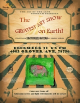 The Greatest Art Show On Earth…Tonight!