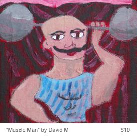 homepage david muscle man