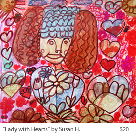 LadywithHeartsbySusanH.