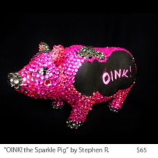 ONIK! the sparkle pig by Stephen R
