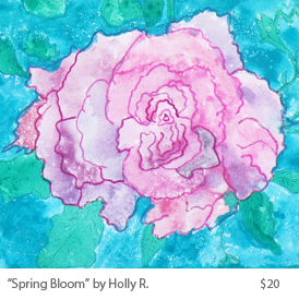 Spring Bloom by Holly