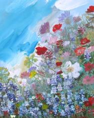 Wildflowers Detail 8x10