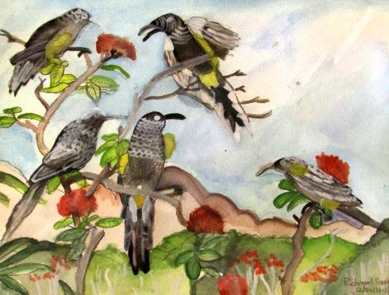Birds in Paradise by Richmond Freeman
